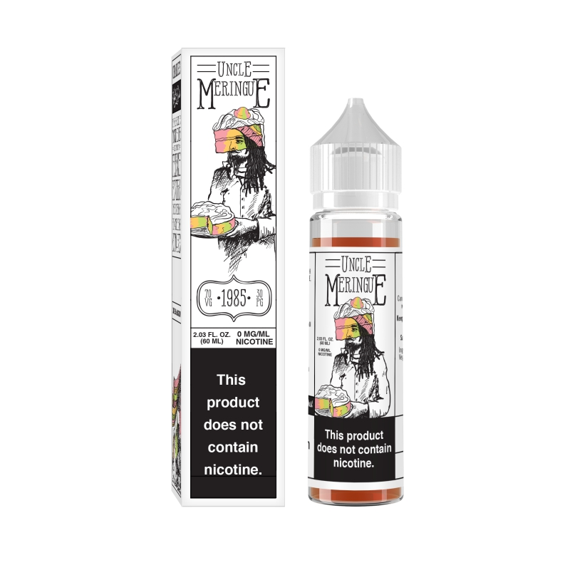 Lichid - Charlie's Chalk Dust - Uncle Meringue - 50ml