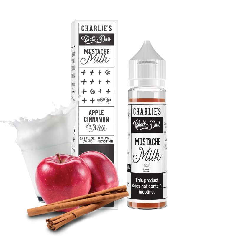 Charlies Chalk Dust - Mustache Milk - 50ml