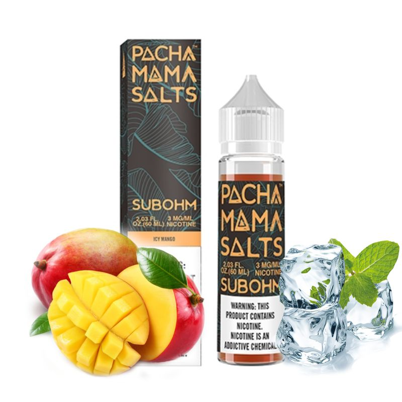 Pacha Mama by Charlies - ICY MANGO - 50ml