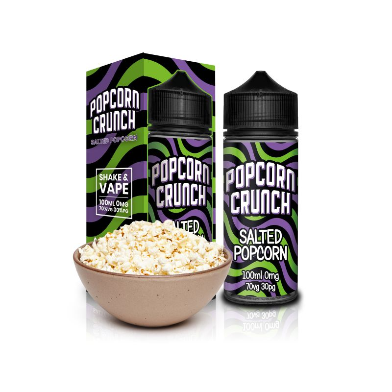 Popcorn Crunch - SALTED POPCORN - 100ml