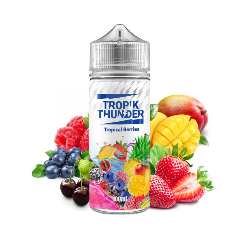 Tropik Thunder - Tropical Berries - 100ml
