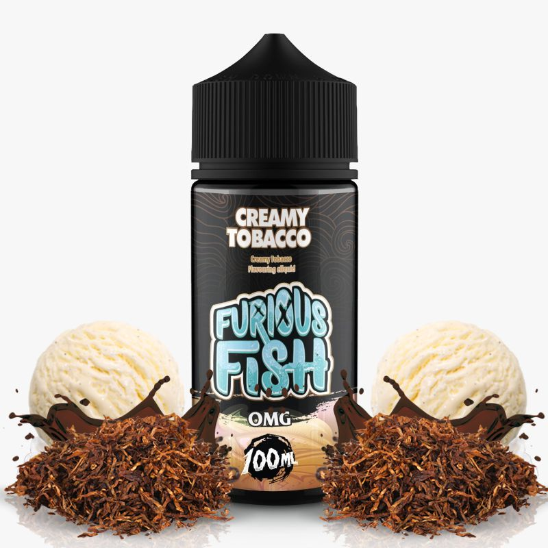 Furious Fish - Creamy Tabacco - 100ml