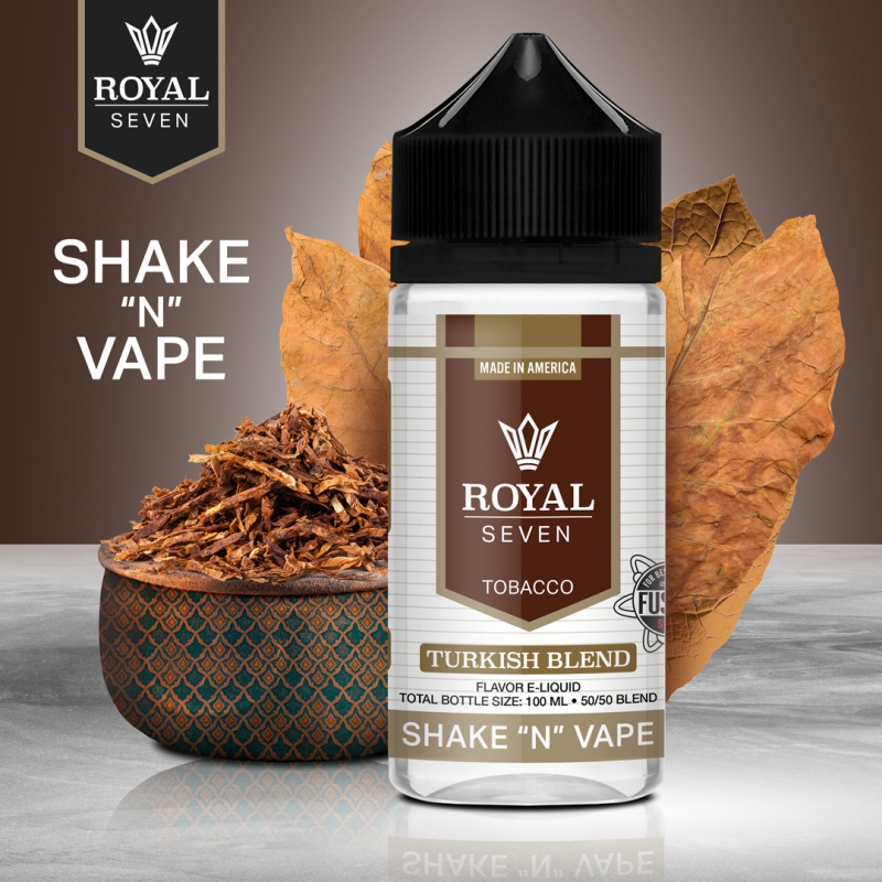 Royal Seven - Turkish Blend - 50ml