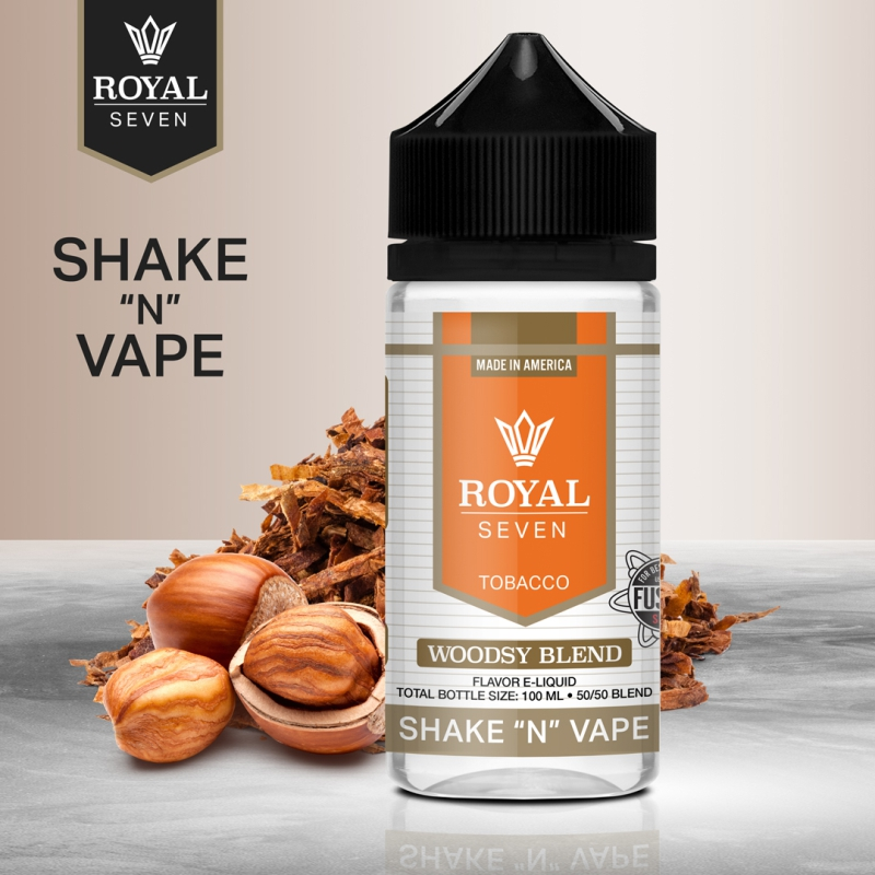 Royal Seven - Woodsy Blend - 50ml