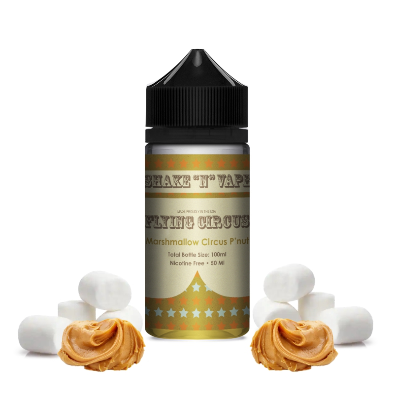 Flying Circus - Marshmellow Peanuts - 50ml