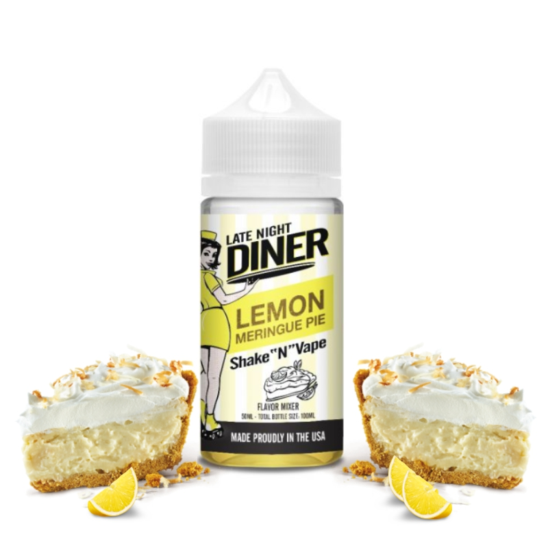 Late Night Diner - Lemon Meringue Pie - 50ml